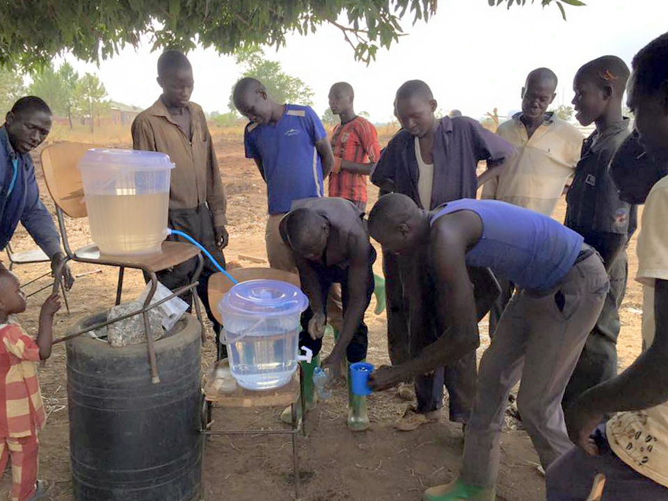 PEACEfilter - clean water filter used in Uganda